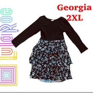 NWT LuLaRoe Georgia Dress Sz. 2X
